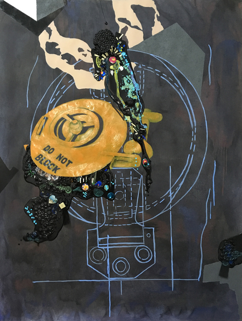 Nicole Awai, 'No Escape (Hatch) 3', 2017, Lesley Heller Gallery