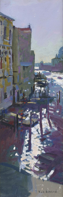 Ken Howard, 'From the Accademia Bridge, Morning Light', 2017, Portland Gallery
