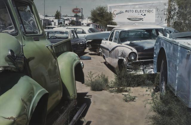 , 'Albuquerque Wreck Yard,' 1972, Louis K. Meisel Gallery