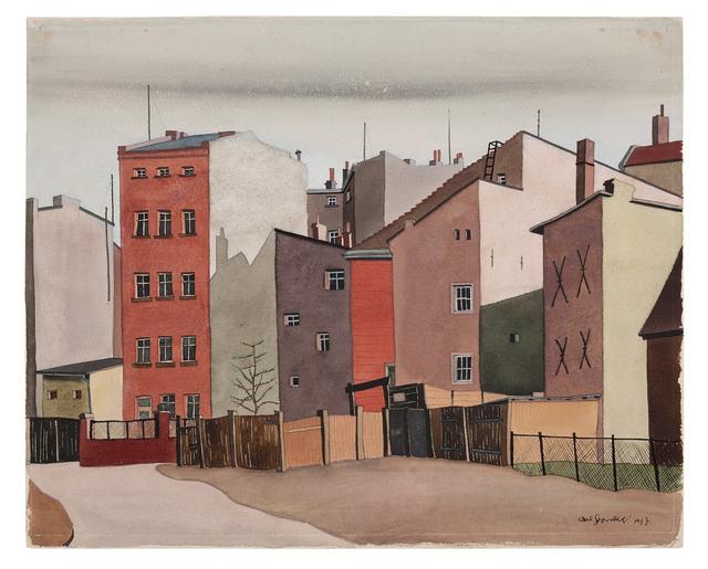 , 'Häuser,' 1937, Galerie Michael Hasenclever KG