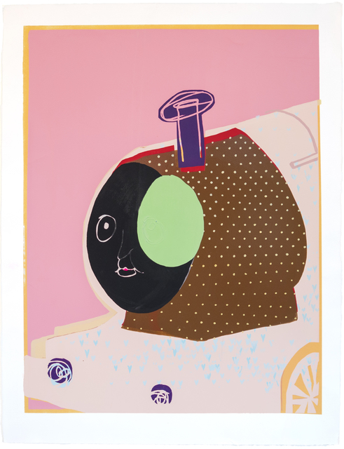 , 'HEY DAY ( CHUCHU-TRAIN-Brown with Dots ),' 2013, Gallery LVS