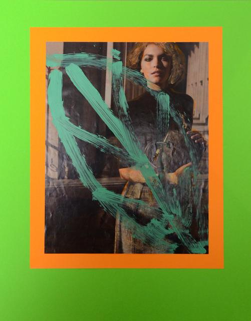 , 'Post-Hippie Pop-Abstraction,' 2015, Klowden Mann