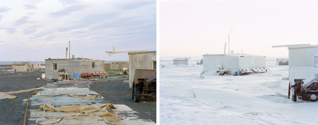 , 'Barrow Cabins 01,' Summer 2010-Winter 2012, G. Gibson Gallery
