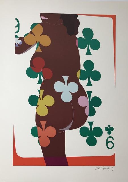 Alain Jacquet, 'Camouflage venus noire', Print, Lithography in colours, DIGARD AUCTION