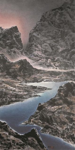 , 'Ever-surging Dawn Light across the Straits 兩岸晨光涌不絕,' 2007, Galerie du Monde