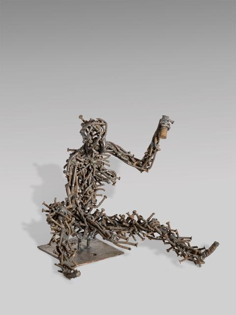 , 'Le casseur de pierres,' 2016, Africa Bomoko