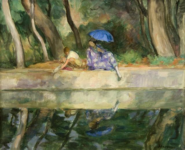 , 'Reflets, Le Pradet,' 1923, Guarisco Gallery