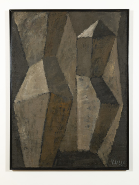 Michele Russo, 'Brown Geometry', ca. 1960, Russo Lee Gallery