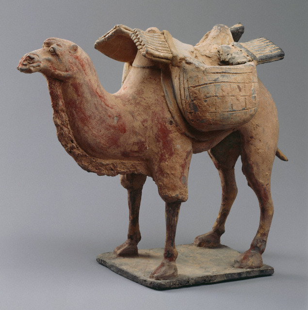 , 'Tomb Figure: standing camel,' early 6th century, Princeton University Art Museum