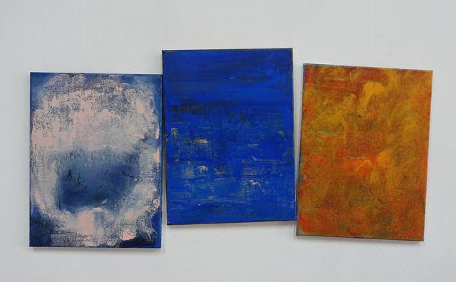 , 'Conversation 5 (triptych),' 2017, Galerie Koo