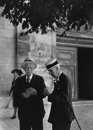 , 'Sortie de la Messe a Sceaux,' 1945, Staley-Wise Gallery