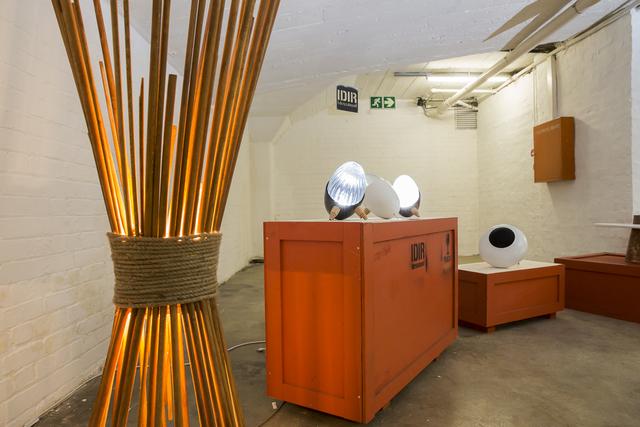 , 'Safri (luminaire), Kanki & BEE (speaker),' 2015-2016, Museum of African Design (MOAD)