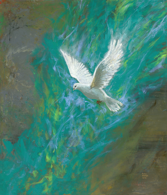 , 'The Dove - Come Holy Spirit,' 2017, Artrue Gallery