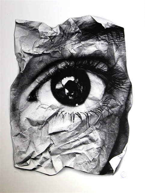 JR, 'EYE - Froisse ', 2011, Jewel Goodby Contemporary