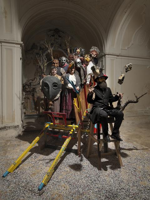 , 'Santo Stefano, i coriandoli, le pietre,' 2015, Eduardo Secci Contemporary