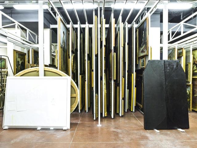 , 'Treasure Rooms of the Galleria d'Arte Moderna - Turin,' 2014, Robert Mann Gallery