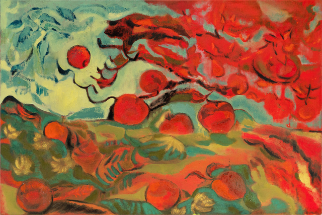 , 'Late Summer's Reverie with Apples and Kerchiefs,' 2018, Projet Pangée
