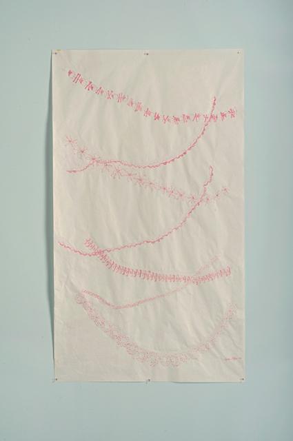 , 'Trackways Drawing #1,' 2013, A.I.R. Gallery