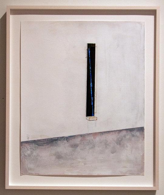 , 'Vertical Incense,' 2019, Johannes Vogt Gallery
