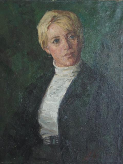 Aleksey Dmitrievich Potapov, 'Smorodinova´s portrait', 1976, Surikov Foundation