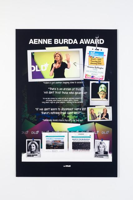 , '12.40 AENNA BURDA AWARD,' 2013, Galerie Buchholz