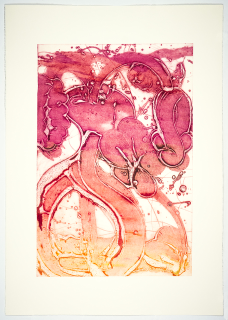 , 'Bouquet (mum, yellow, rose chine collé),' 2019, Manneken Press