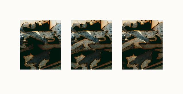 , 'Untitled (GI-1919191919191919) [Studies 1-3],' 2019, Sid Motion Gallery
