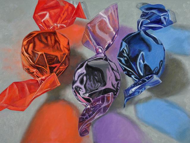 , 'Red Violet Blue,' 2017, Tabla Rasa Gallery
