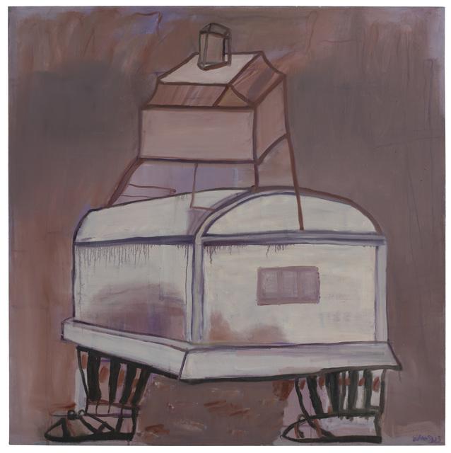 , 'House on feet 步行的房子,' 2015, PIFO Gallery