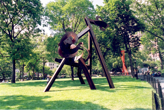 , 'Beyond,' 2004, Madison Square Park