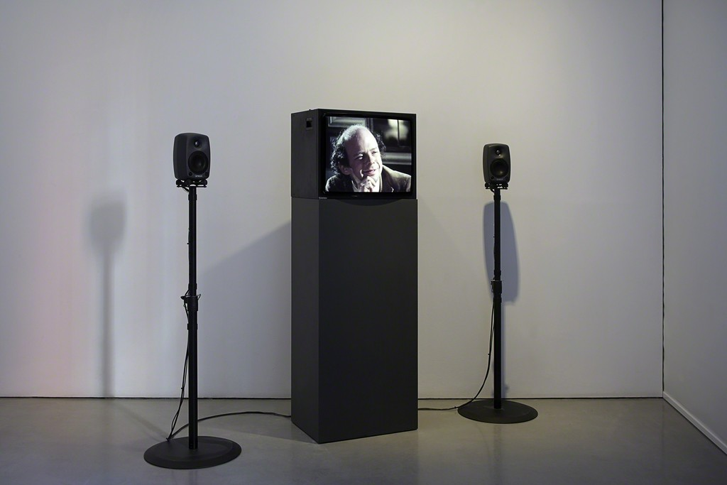 My Silence on show at Carroll / Fletcher in London, 2014. Single channel video installation.