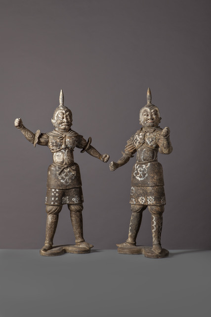 , 'Warriors,' China, Early Tang Dynasty (618, 907), Late 7th Century, Vanderven Oriental Art
