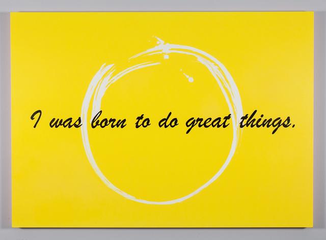 Mickalene Thomas, 'I was born to do great things', 2014, Kavi Gupta