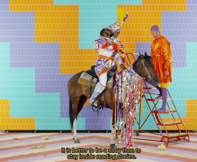 , 'Alex Da Corte and Jayson Musson, Eastersports (video still) ,' 2014, MASS MoCA