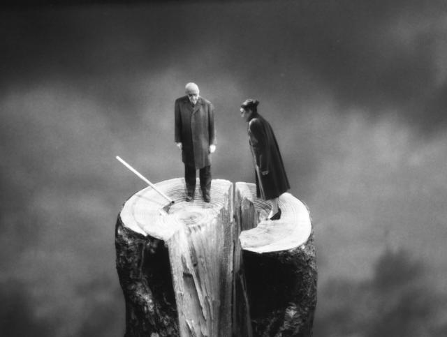 Gilbert Garcin, 'L'irréparable - The point of no return', 2003, Photography, Gelatin silver print, Stephen Bulger Gallery