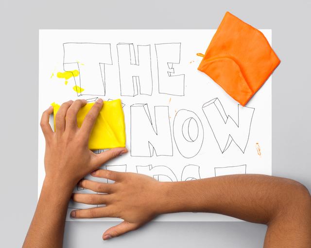 , 'THE KNOWLEDGE (hands),' 2015-2016, Galerie Antoine Ertaskiran