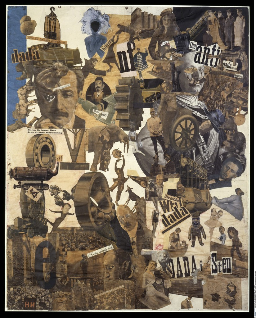 hannah höch cut with the dada kitchen knife through the last