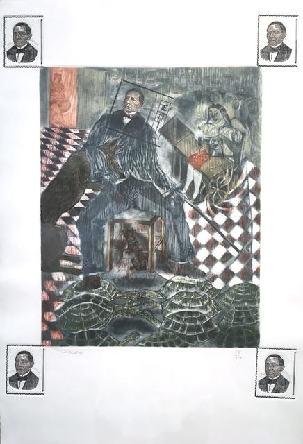 , 'El Vento de Juarez,' 1986, Latin American Masters
