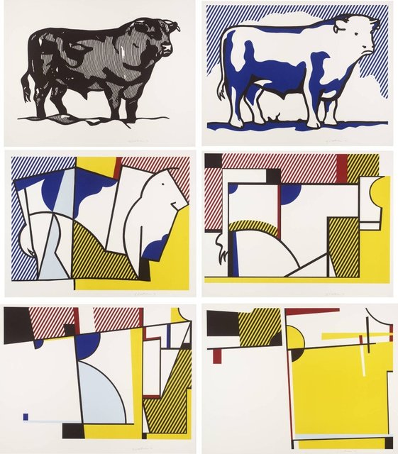 Roy Lichtenstein, 'BULL PROFILE SERIES (C. 116-121)', 1973, Joseph K. Levene Fine Art, Ltd.