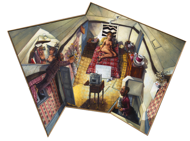 , 'THE 17TH WEDDING ANNIVERSARY: OUR BEDROOM AT MOLE END ,' 1978, Chris Beetles Gallery