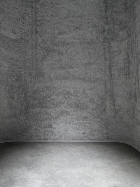 , 'Troisième jour (Wall drawing),' 2014, Palais de Tokyo