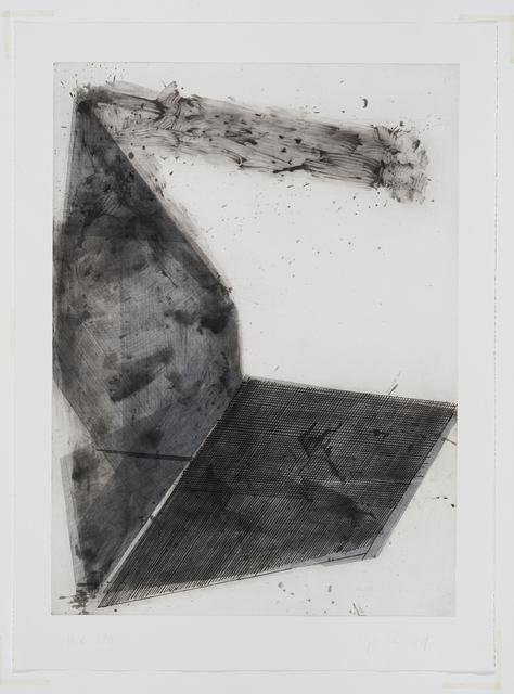 José Pedro Croft, 'Sem título | Untitled', 2017, Print, Água forte, água tinta, ácido direto e ponta seca, Mul.ti.plo Espaço Arte