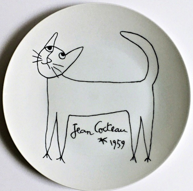 Jean Cocteau, 'Cat', 1959, Alpha 137 Gallery