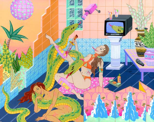 , 'Wrestling,' 2015, New Image Art