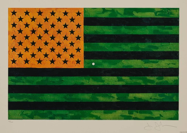 Jasper Johns, 'Flag (Moratorium)', 1969, Heritage Auctions