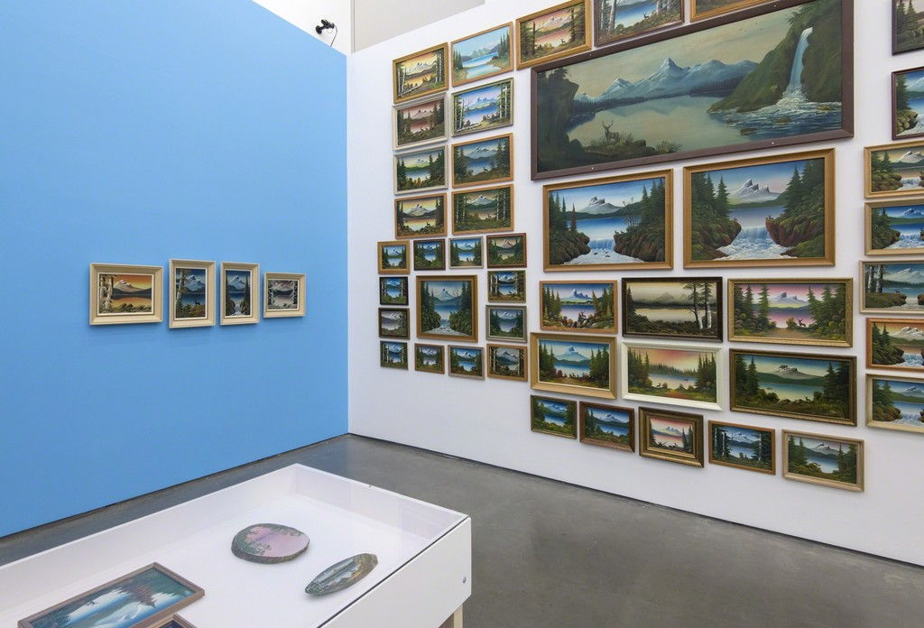 Installation view from Levine Flexhaug - 'A Sublime Vernacular: The Landscape Paintings', Contemporary Art Gallery, Vancouver, June 30 - September 24, 2017