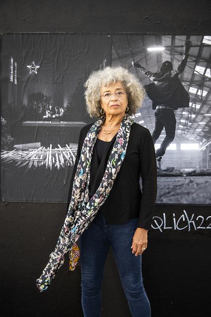 Lewis Watts, 'Angela Davis on 14th Street, Oakland', 2020, Photography, Archival pigment print, Rena Bransten Gallery