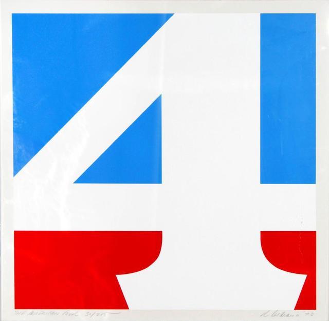 Robert Indiana, 'The American Four', 1970, Kunzt Gallery