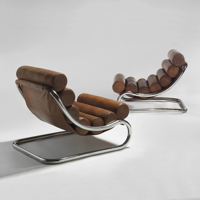 , 'Pair of Lounge Chairs,' ca. 1971, Demisch Danant