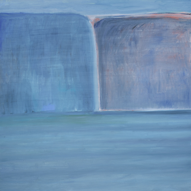 , 'Ocean/ Blue/ Blue Cliffs,' , Betty Cuningham